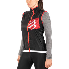 Compressport Cycling Hurricane Gilet sans manches coupe-vent, black